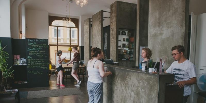 Czech Inn Reception Upgrade