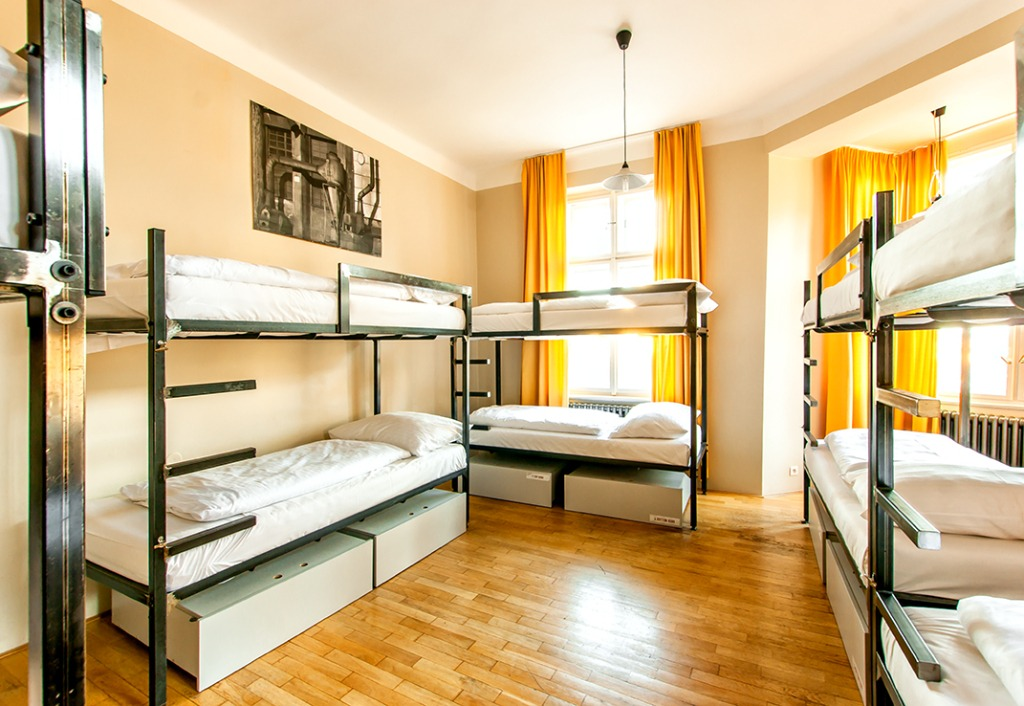 The Czech Inn Hostel Prague Dorm Room