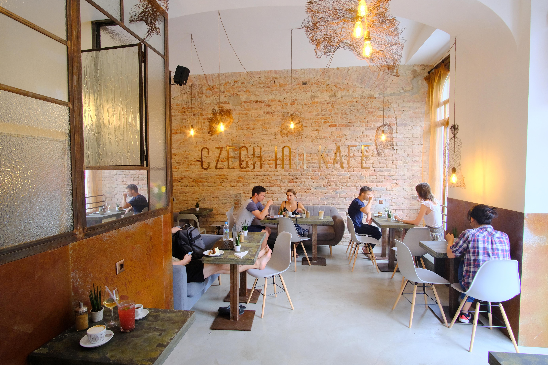 Czech Inn Kafe Area