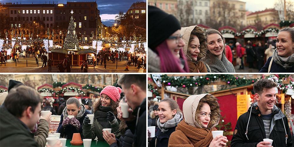 christmas markets namesti miru prague
