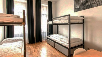 czech inn hostel prague 4 bed mixed dorm