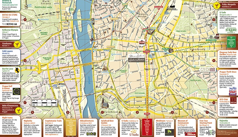 czech inn hostel prague map 2016 800x460