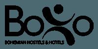 boho bohemian hostels and hotels logo