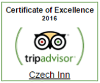 czech inn tripadvisor excellence award