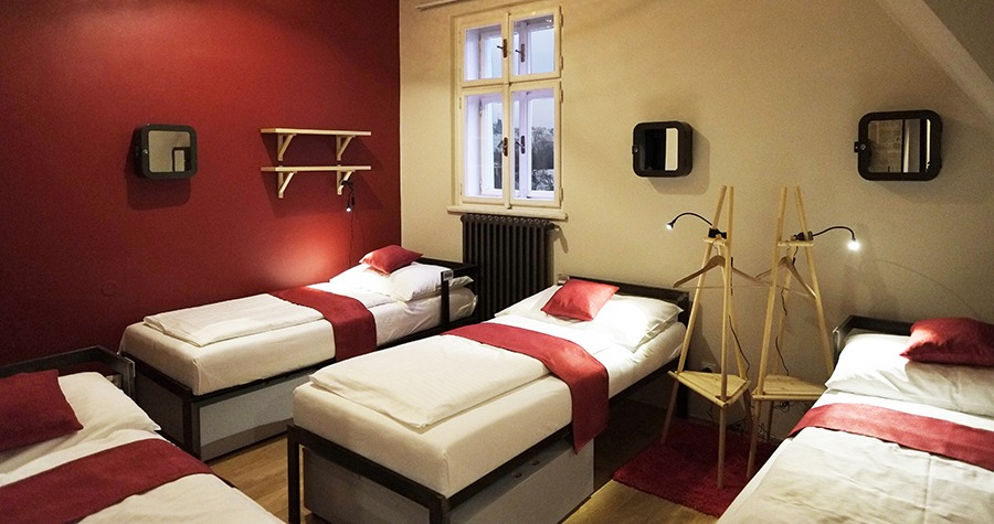 czech inn hostel prague premium mixed dorm beds