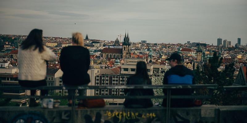 czech inn hostel prague view