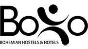boho bohemian hostels and hotels logo
