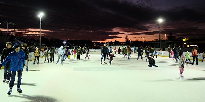 ice skating prague
