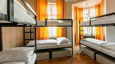 czech inn hostel prague 16 bed dorm room