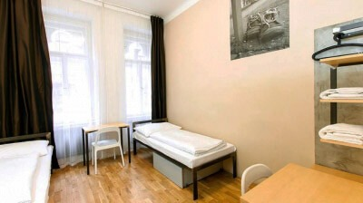 czech inn hostel prague single twin room with shared bathroom