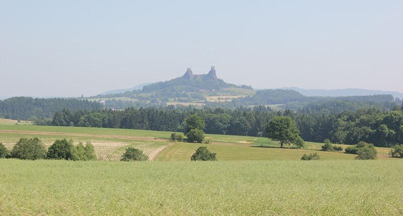 ruins of trosky castle hrad trosky